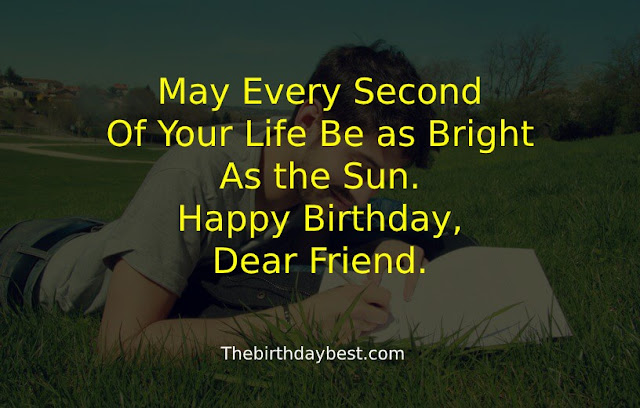 Happy Birthday Wishes for Men