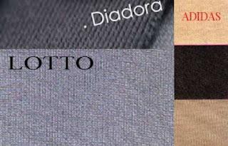 Bahan Jaket: Diadora, Lotto, Adidas