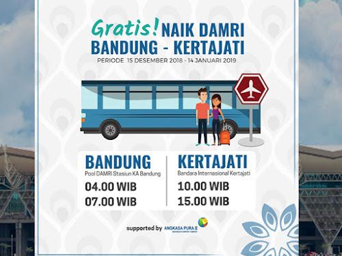 Jadwal Bus Damri Bandung - Bandara Kertajati