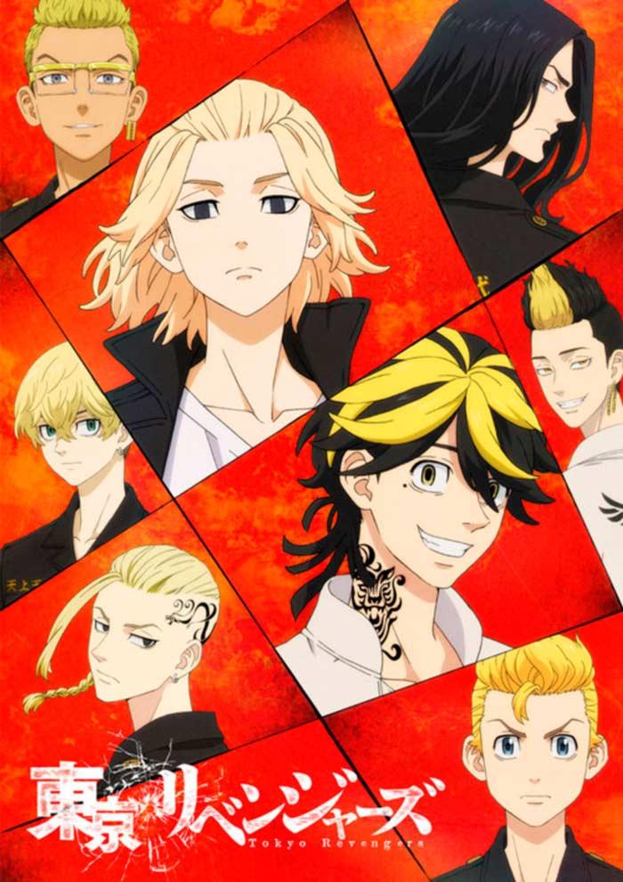 Tokyo Revengers anime - poster