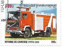 Selo Caminhão de Bombeiros Metz