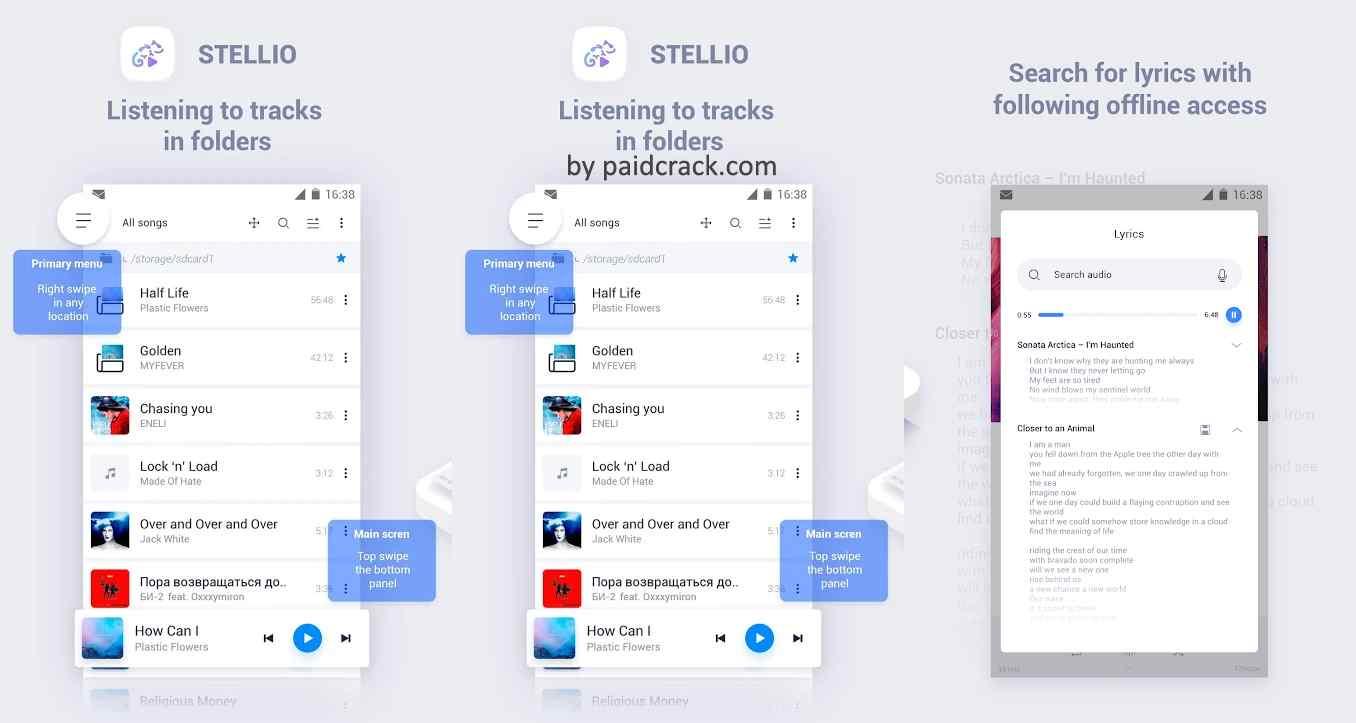 Stellio - Music and mp3 Player Premium Mod Apk 6.2.11