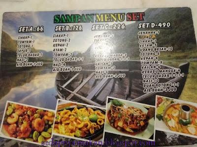 menu set Dsampan