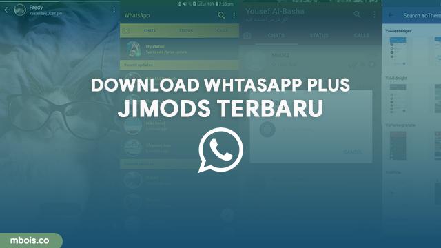 Download WhtasApp Plus JIMODS Dengan Banyak Tema Unik