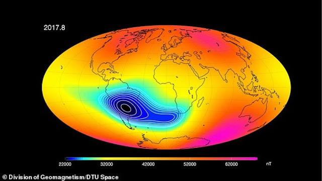 Εξασθενεί το μαγνητικό πεδίο της γης - Είχε συμβεί και πριν από 780.000 χρόνια