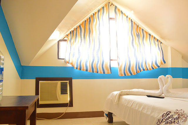 hotel room of Sunny Hotel/Puerto Galera Beach Resort