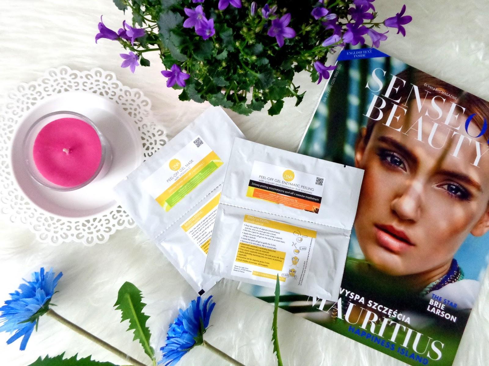 my-love-cosmetics: e-Naturalne.pl: Maski algowe peel-off w