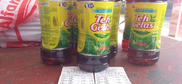 Bukti Minuman Gratis 350ml dari Alfamart
