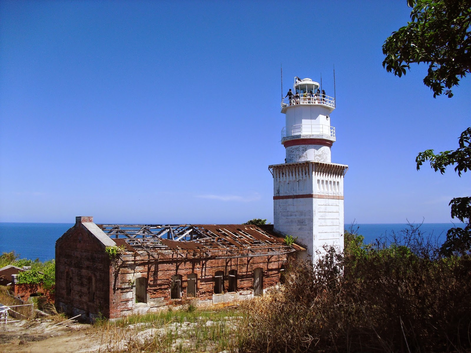 Capones Lighthouse in Zambales