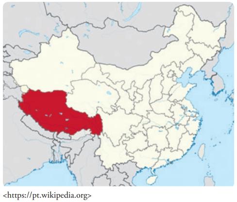 FDSBC 2019: Assinale a alternativa que identifica e caracteriza corretamente a região destacada no mapa ao lado