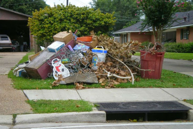 hauling away junk removal service