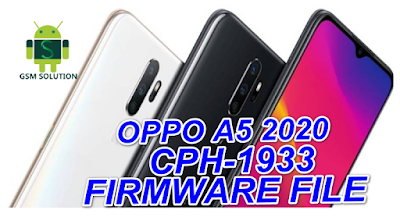 Oppo A5 2020 CPH1933 Offical Stock Rom/Firmware/Flash file Download