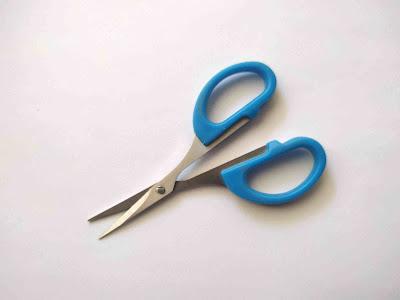 tesoura de precisão para corte de feltro