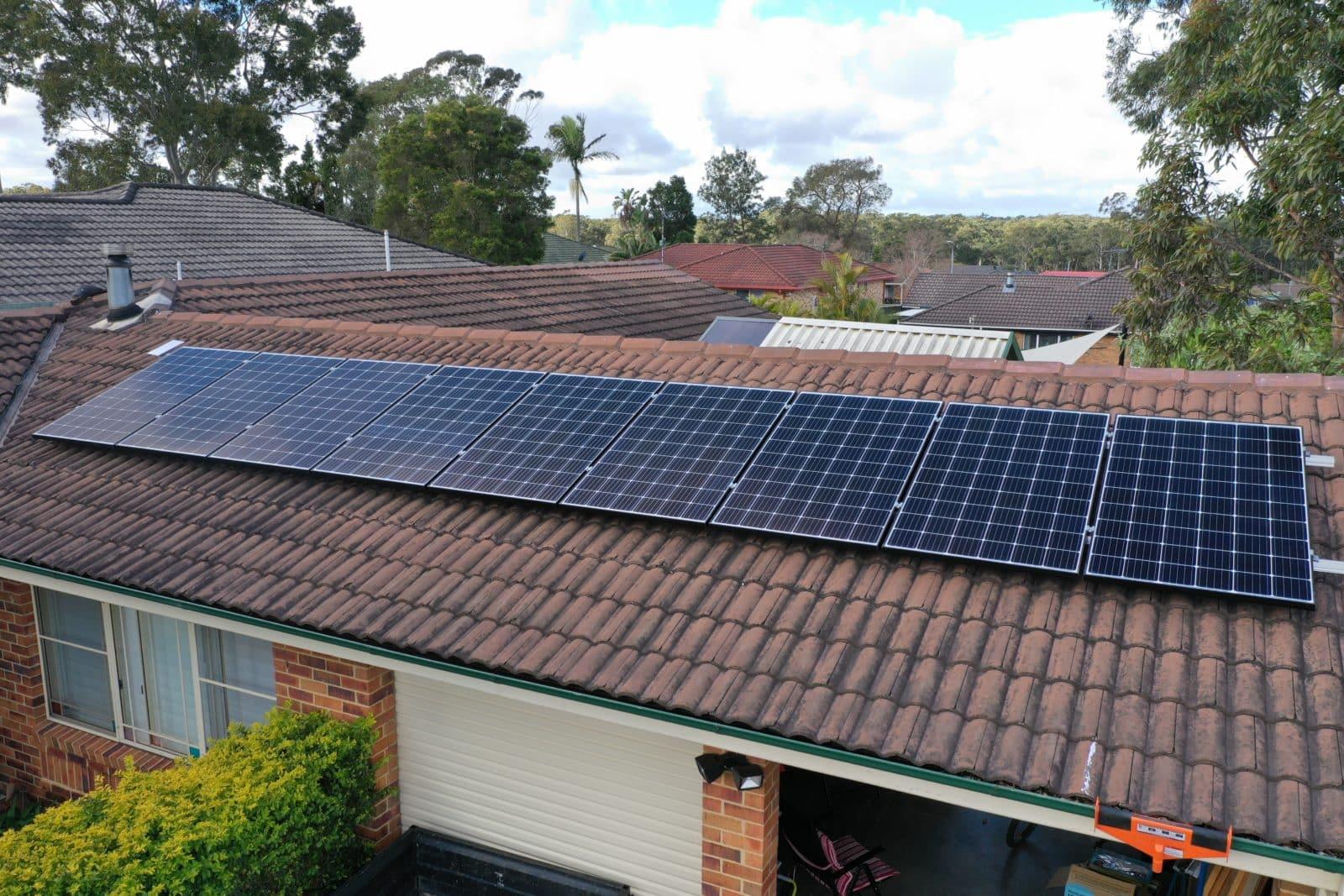 solar panels in newcastle