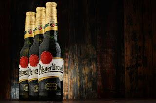 Pilsner Urquell bottles