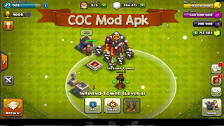 Download Game Clash of Clans Apk 9.256.5 New MOD Clash Bot VIP