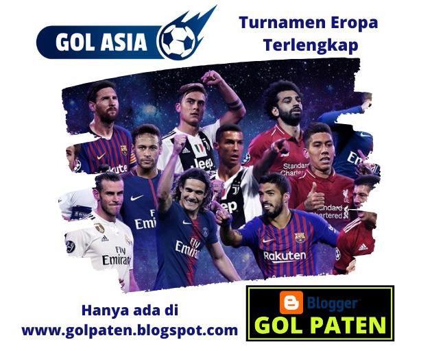 Jadwal Turnamen Sepak Bola Eropa 13 Desember 2019