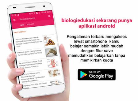 Download aplikasi biologiedukasi di playstore klik gambar