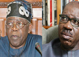 Edo Election: Reject Obaseki, he is not qualified - Tinubu tells voters