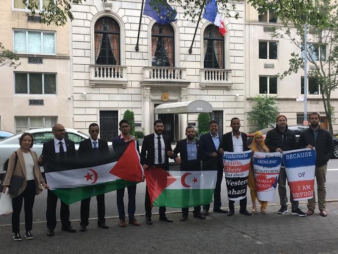 جمعية الصحراويين بالولايات المتحدة الأمريكية تدعو باريس إلى تصحيح موقفها من نزاع الصحراء الغربية لصالح القانون الدولي.