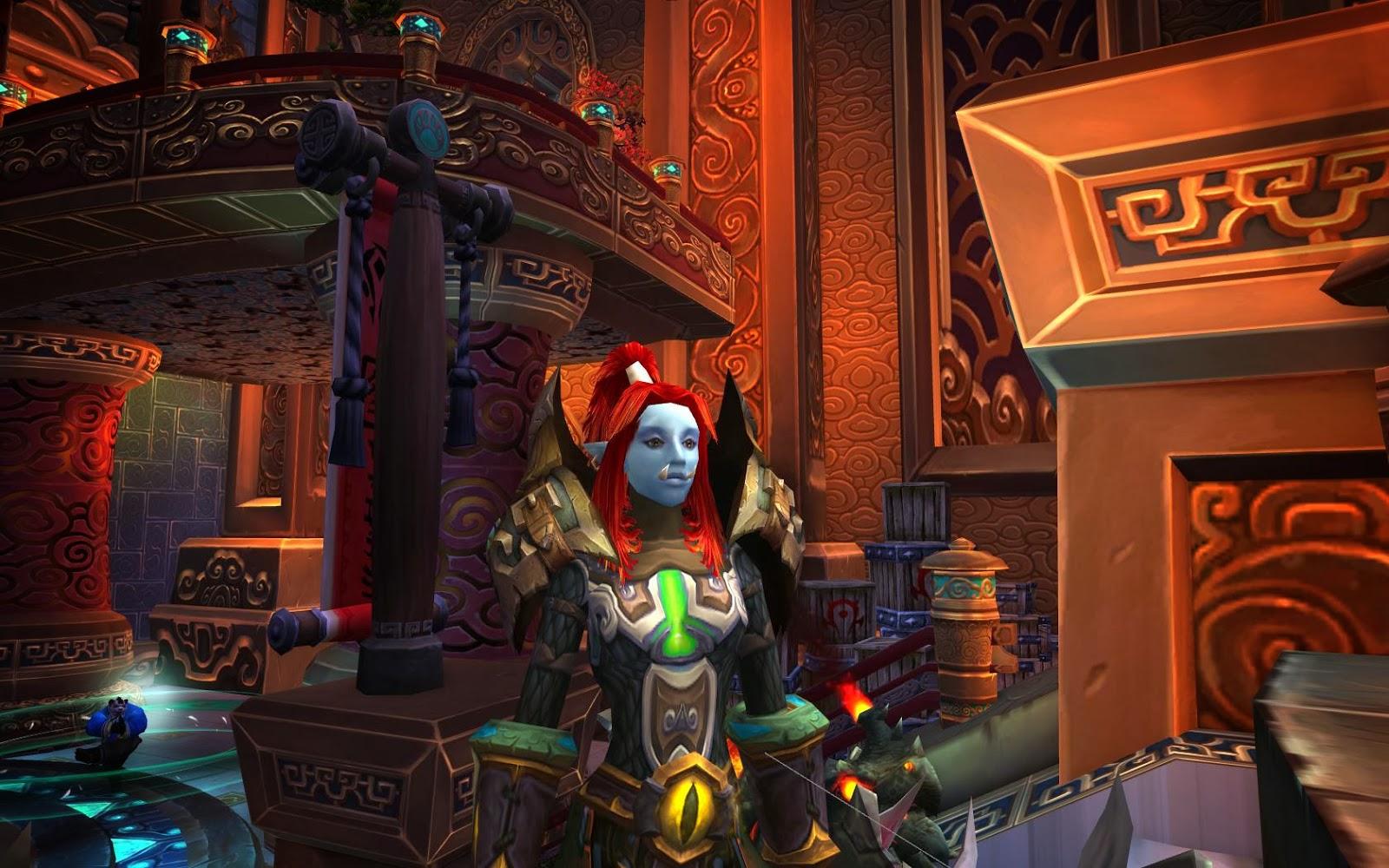 The Vazula Warlords Of Draenor New Character Models