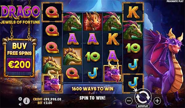 Main Gratis Slot Indonesia - Drago Jewels of Fortune (Pragmatic Play)