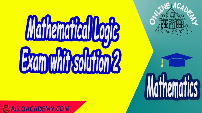 Exam with solution Logic and Set Theory Proof Sets Reasoning Mathantics Course Abstract Exercises whit solutions Exams whit solutions pdf mathantics maths course online education math problems math help math tutor be online academy study online online education online education programs online tech schools online study courses learning online good online schools finite math online classes for adults online distance learning online doctoral programs online master degree best online schools bachelor of early childhood education elementary education online distance learning universities distance learning colleges online education degree phd in education online early childhood education online i need a degree fast early childhood degree top online schools online doctoral programs in education educational leadership doctoral programs online distance learning bachelor degree bachelor's degree in early childhood education online technical schools bachelor of early childhood education online distance