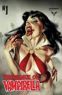 Cover A of Vengeance of Vampirella #1 by Joshua Middleton