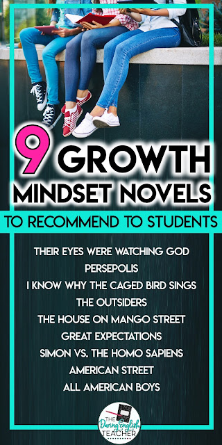 Nine Growth Mindset Novels to Recommend to Students