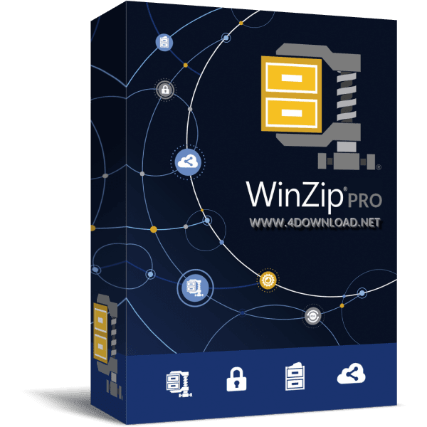 Download WinZip Pro v23.0 Build 13300 Full version