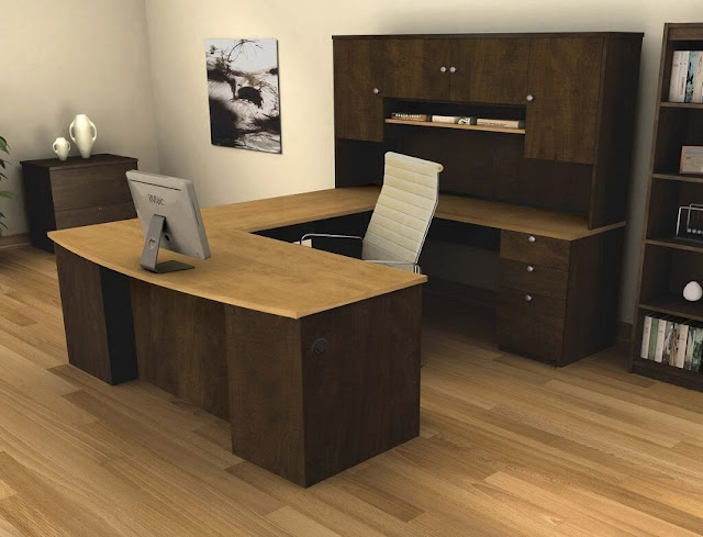 best buying u shaped desk Costco office furniture online for sale