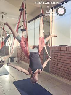 aero pilates, pilates aereo, cursos, beleza, bem estar, ioga, exercício, suspensão a ar, gravidade, academias de ginástica, certificaçao, formação de professores, balanço,