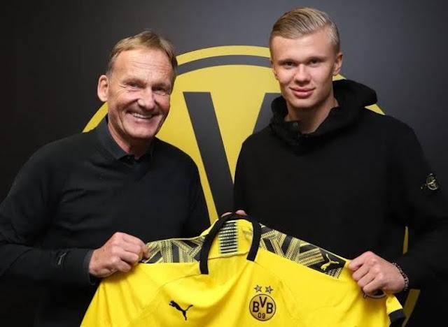 Get Haaland, Dortmund Sindir MU and Juventus