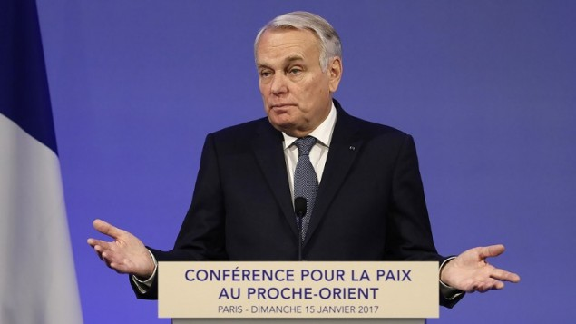 French Minister of Foreign Affairs Jean-Marc Ayrault