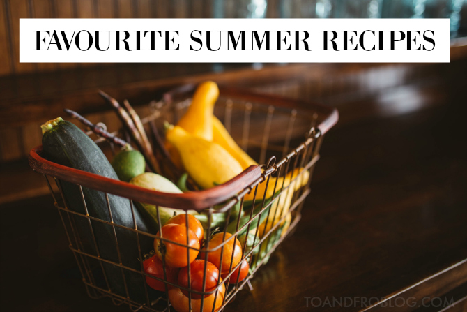 favourite summer recipes