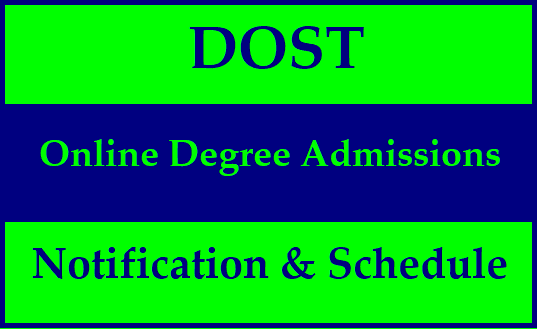DOST TS Degree Admissions 2020 | Degree Online admission telangana 2020 | Degree Online application form 2020 last date | Degree seat allotment 2020 | DOST cgg gov university wise college courses 2020 | dost cgg gov student login 2020 | Degree Online (DOST) TS Telangana Admissions at www.dost.cgg.gov.in | DOST Official Website Onilne Application Form Website www.dost.cgg.gov.in Degree Online Services, Telangana (DOST) welcomes you to take online admissions for undergraduate courses through this online service for the academic year 2020-21. DOST is a friendly and effortless way to apply for your undergraduate courses. DOST helps you in choosing your favourite undergraduate course with all the information you wish to know. DOST minimizes your efforts and maximises your choices to opt for an undergraduate course. Online Services Telangana (dost) Candidates seeking admission to Ist year B.A./B.Sc./B.Com.(Gen/ Computers/ Comp.Appln.) /B.Com.(Voc)/BSW /BBA /BBM/BCA Degree courses in Osmania University, Kakatiya University, Telangana University, Palamuru University, Mahathma Gandhi University and Satavahana Universities Admissions.DOST Admission 2020 - Telangana Degree Online Admissions Notification & Schedule DOST TS Degree Admissions 2020/2020/06/TS-DOST-Telangana-Degree-Online-Admissions-Notification-2020-Schedule-and-Registration-Process-apply-online-dost.cgg.gov.in.html