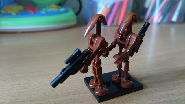 Боевые дроны лего минифигурка b1 star wars звёздные войны купить