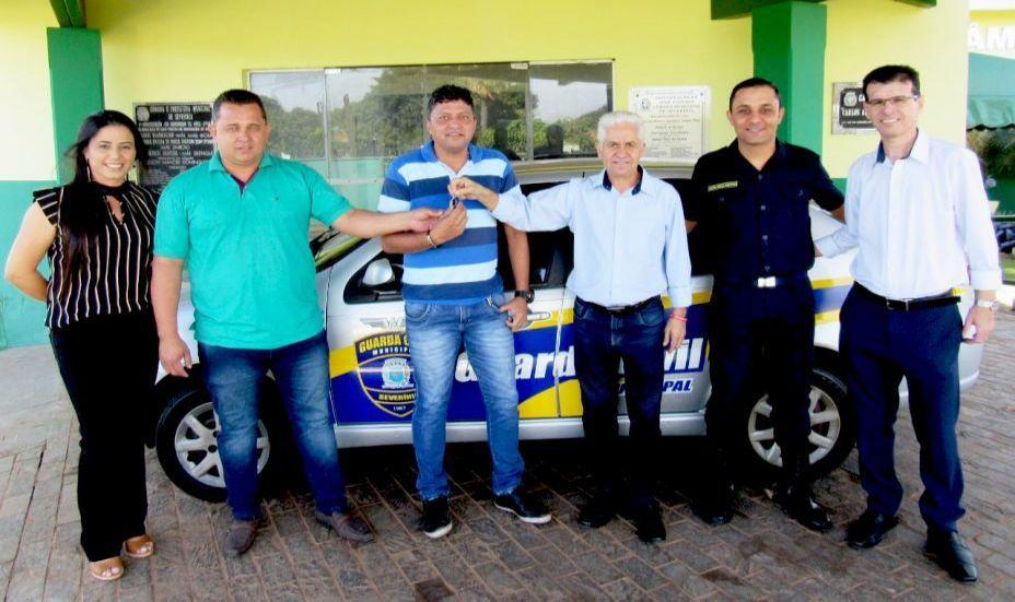 Câmara Municipal de Severínia entrega veículo à Guarda Civil Municipal