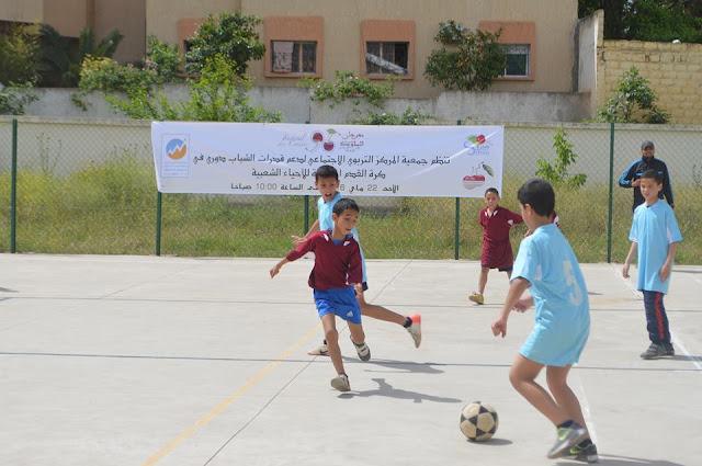 Eventos deportivos en el Festival de la Cereza en Sefrou (Marruecos)