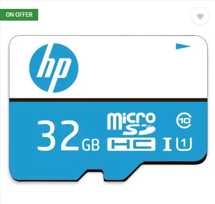 [Loot] Buy 32GB HP Memory Card at Just Rs.299