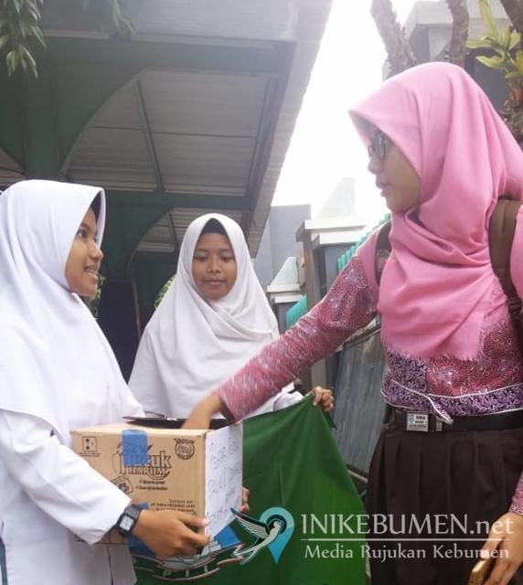 Anak-anak PII Kebumen Galang Donasi untuk Donggala dan Palu