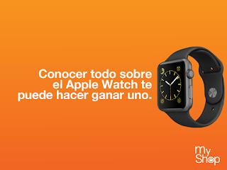 [Sorteo] Participa y gana un Apple Watch todas las semanas - Sorteo MyShop Perú