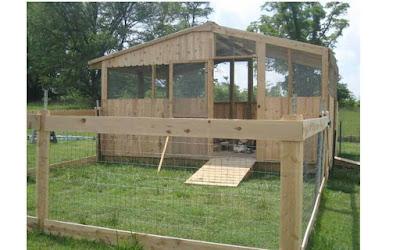 Folding unit system chicken house