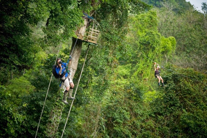 …a gravity-defying zip line!  - Your Childhood Dreams Will Be Re-Awakened When You See These Magical Treehouses.