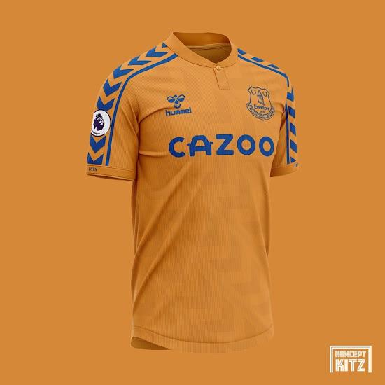 Classy Hummel Everton 20 21 Home Away 2 Alternative Kit Concepts Revealed Footy Headlines