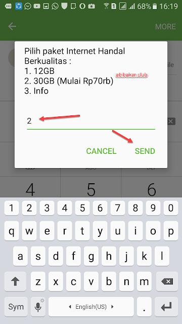 Paket Internet 30GB Telkomsel 70 Ribu