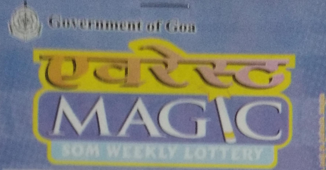 Goa Everest Magic Som Weekly Lottery Result 09.09.2019 Will be Our Today at 4:30 PM - Realinfo