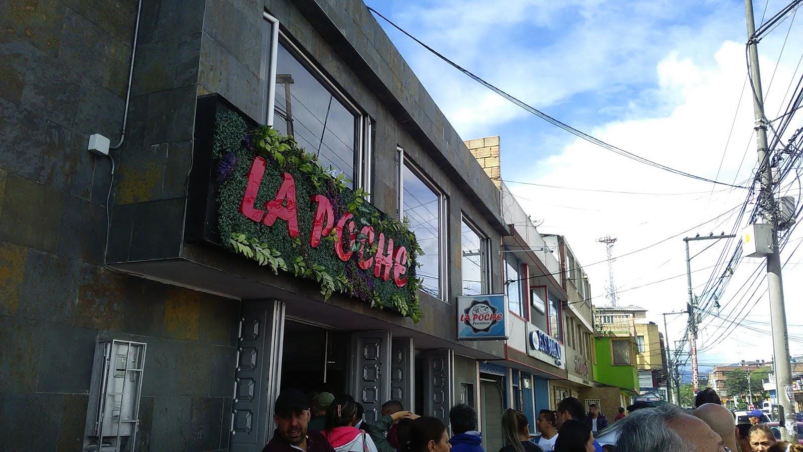 Restaurante La Poche, la mejor pescaderia de Bogota