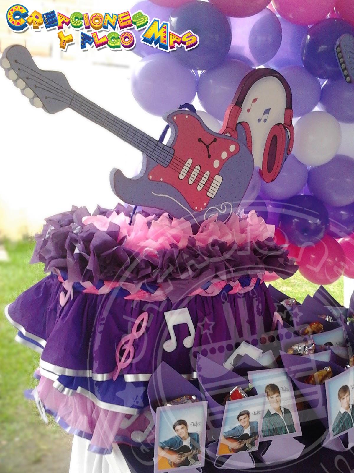 Fiesta Motivo Violetta Party Violetta Disney