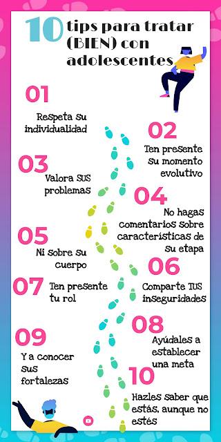 Autoestima y más: 10 tips para tratar (bien) con adolescentes. 02
